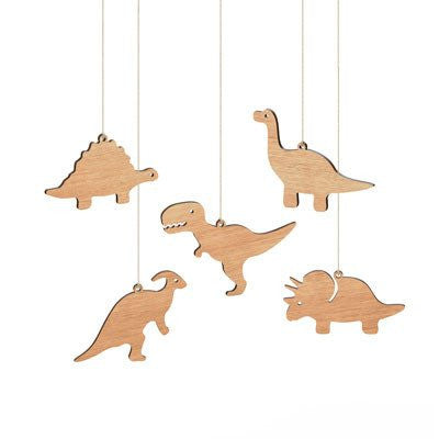 Australian Made Gifts & Souvenirs with the Dinosaur Ornaments Box Set -by Byrne Woodware. For the best Australian online shopping for a Homewares - 1