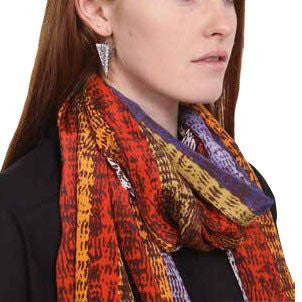 Limited Edition Petra Marshall Silk Scarf