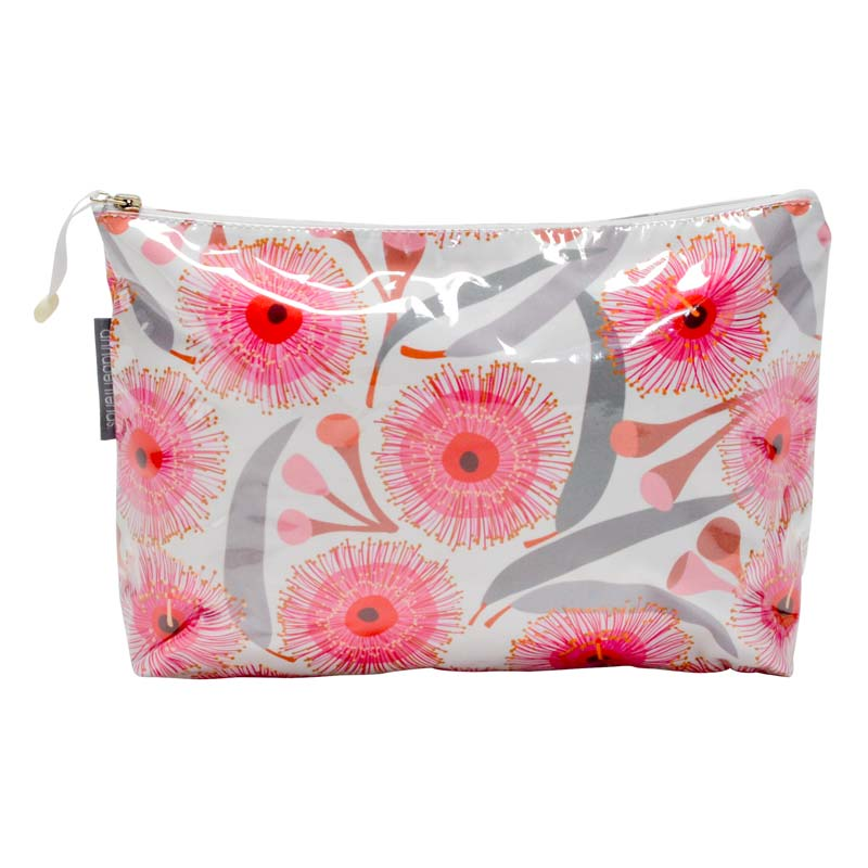 Pink Gum Blossom Cosmetic Bags