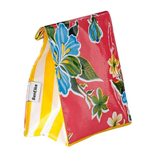 Pink Hibiscus Lunch Bag