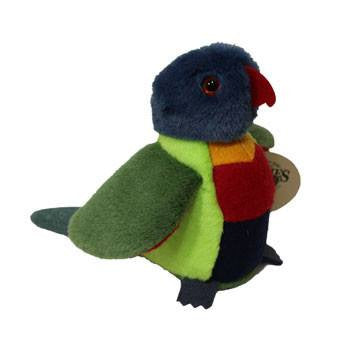 Australian Made Gifts & Souvenirs with the Rebel Rainbow Lorikeet -by Jozzies. For the best Australian online shopping for a Soft Toys - 1