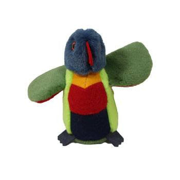 Australian Made Gifts & Souvenirs with the Rebel Rainbow Lorikeet -by Jozzies. For the best Australian online shopping for a Soft Toys - 4