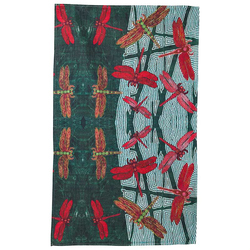 Australian Souvenir Tea Towel - Rainforest
