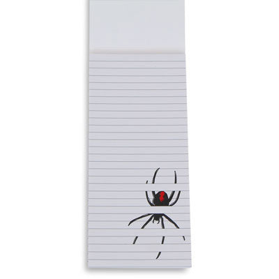 Australian Made Gifts & Souvenirs with the Redback Spider Notepad -by Bits of Australia. For the best Australian online shopping for a Stationery - 2