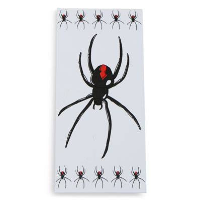 Australian Made Gifts & Souvenirs with the Redback Spider Notepad -by Bits of Australia. For the best Australian online shopping for a Stationery - 1