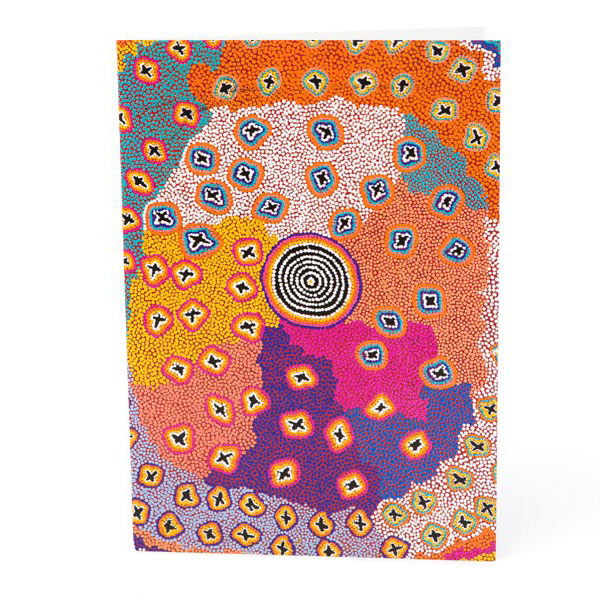 Aboriginal Art Card - Artist Ruth Stewart
