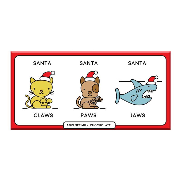 Santa Paws Jaws Chocolate