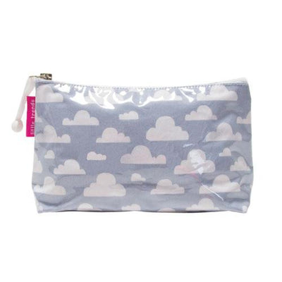Cloudy Grey Toilertry Bags