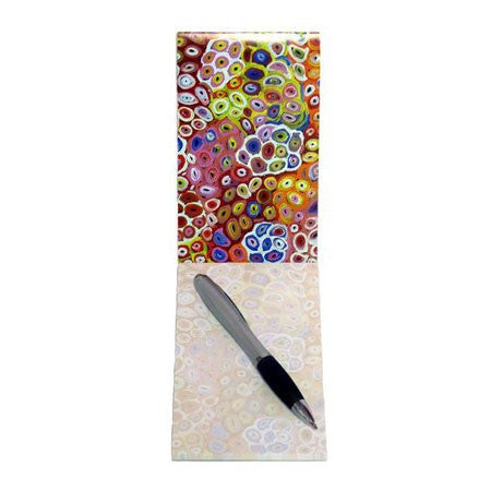 Australian Made Gifts & Souvenirs with the Small Notepad Artist Lena Pwerle -by Utopia. For the best Australian online shopping for a Note Pads - 1