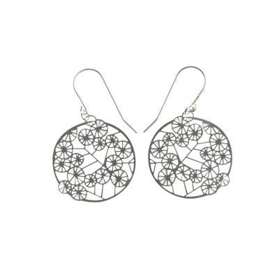 Australian Made Gifts & Souvenirs with the Wattle Earrings - Stainless Steel -by Polli. For the best Australian online shopping for a Jewellery - 1