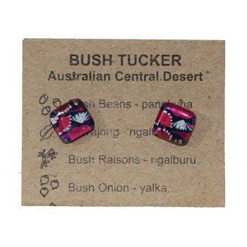 Australian Made Gifts & Souvenirs with the Bush Tucker Earrings -by Simone Dennis. For the best Australian online shopping for a Jewellery