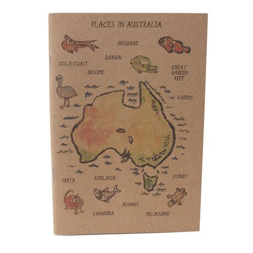 Australian Places Notebook