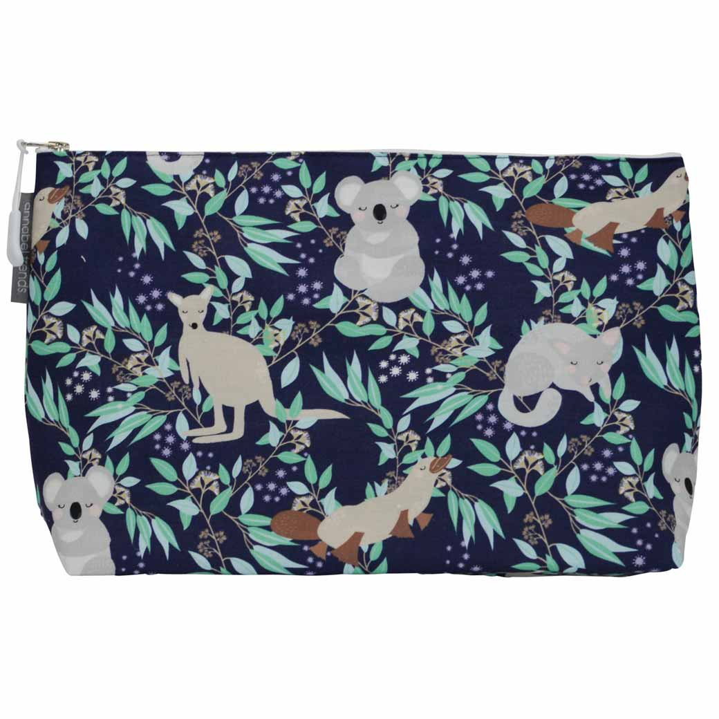Souvenirs from Australia Large Koala Cosmetic Bag Aussie Animals