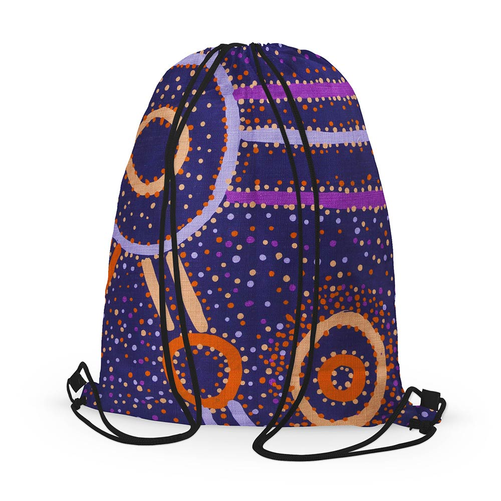 Souvenirs from Australia - Purple Watson Roberston Backpack