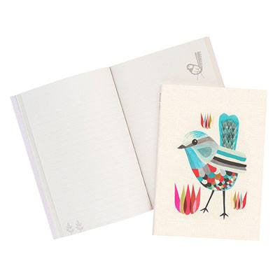 Australian Made Gifts & Souvenirs with the Splendid Fairy Wren Journal -by Earth Greetings. For the best Australian online shopping for a Note Pads - 1