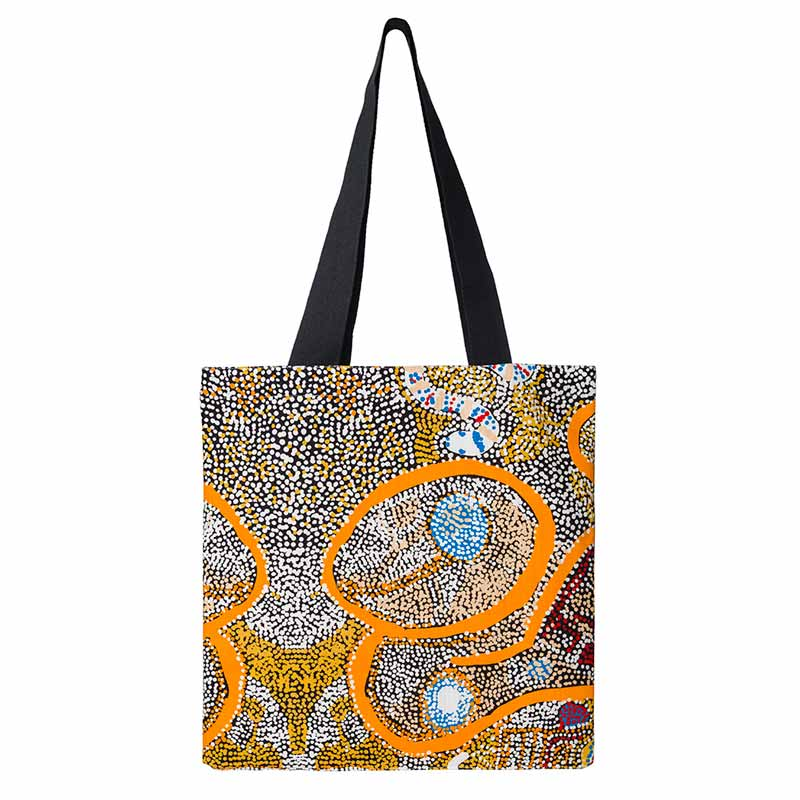Sustainable Gifts Australia - Cotton Aboriginal Art Tote Bag
