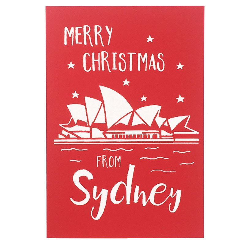 Merry Christmas from Sydney Card