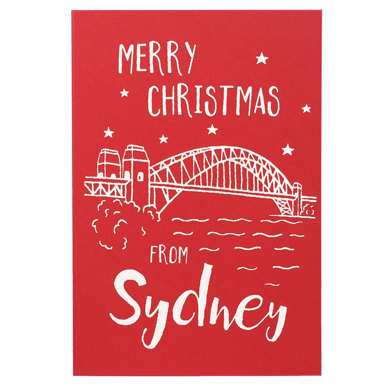 Sydney Christmas Cards - Harbour Bridge