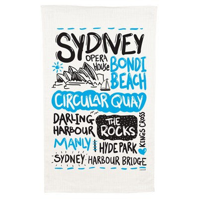 Sydney Cotton Tea Towel