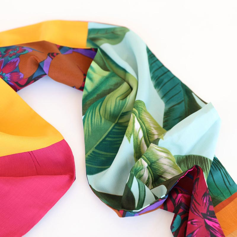 Tasmanian Made Sustainable Vintage Scarf