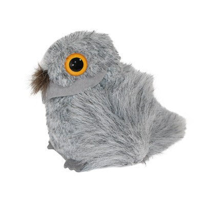 Australian Made Gifts & Souvenirs with the Gus Grey Tawny Frogmouth -by Jozzies. For the best Australian online shopping for a Soft Toys - 1