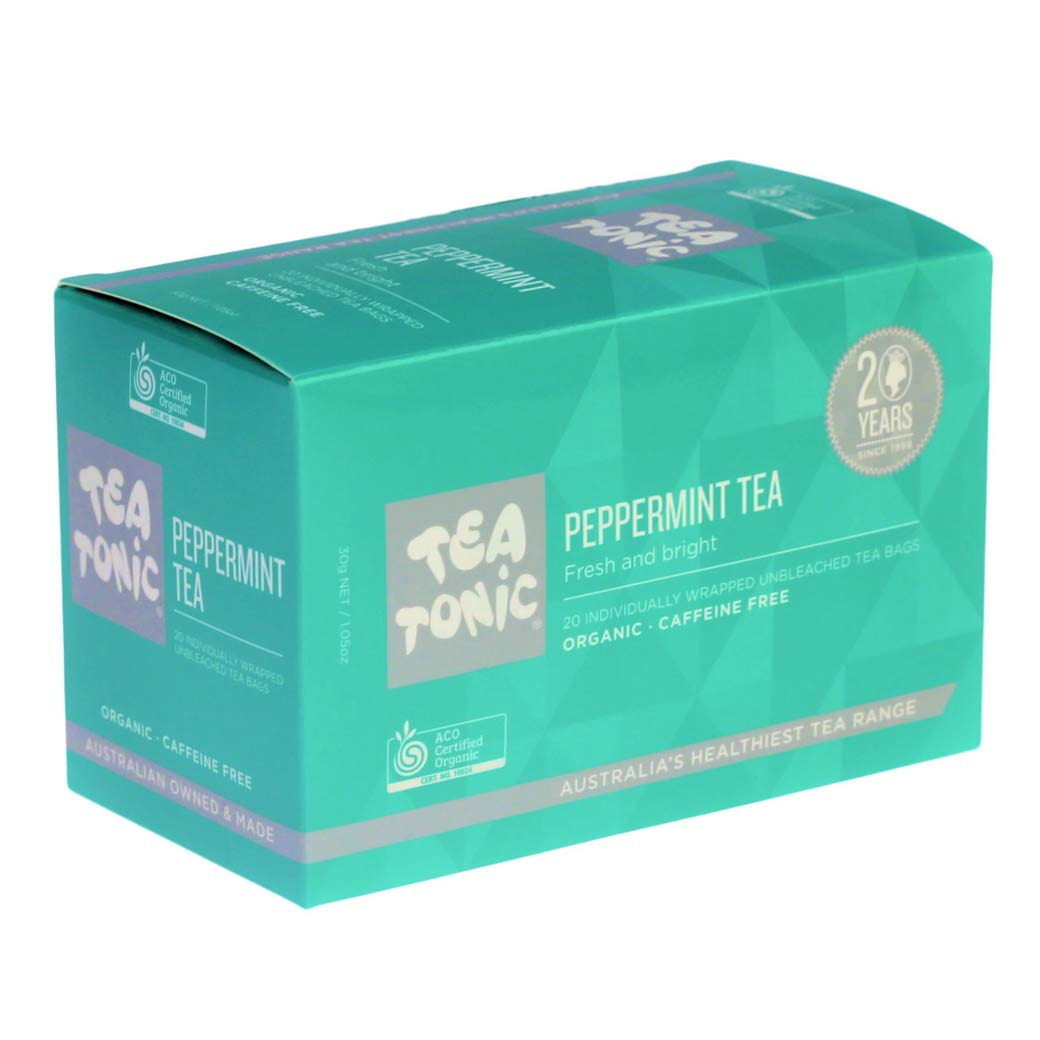 Tea Lover Gifts Australia - Peppermint Teabags by TeaTonic