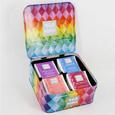 Gourmet Tea Sampler Gift Tin