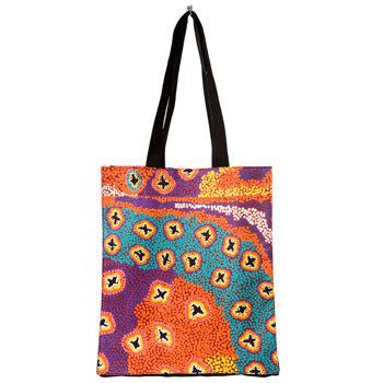 Australian Made Gifts & Souvenirs with the Ruth Stewart Canvas Bag -by Alperstein Designs. For the best Australian online shopping for a Bags