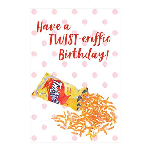 Twist-eriffic Birthday Card