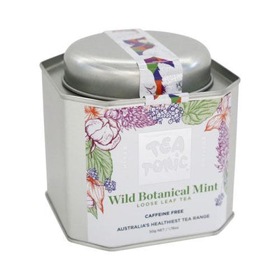 Wild Botanical Mint Loose Leaf Tea Caddy