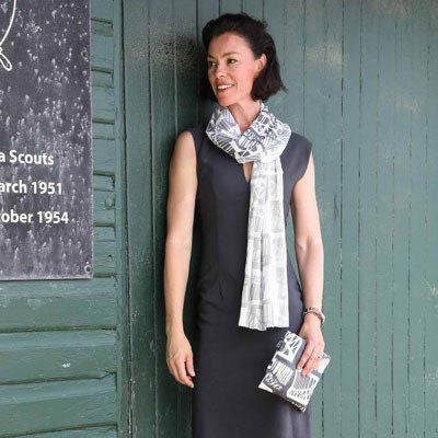 Australian Made Gifts & Souvenirs with the Bridge Scarf -by Sydney Textile Co. For the best Australian online shopping for a Accessories - 1