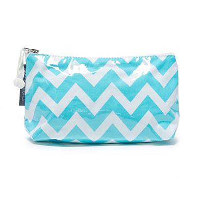 Chevron Toiletry Bags