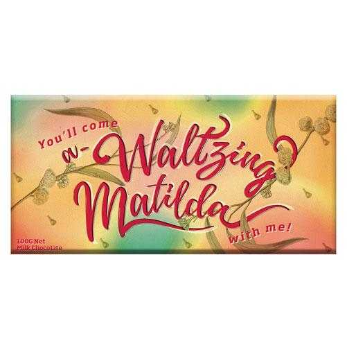 Waltzing Matilda Milk Chocolate