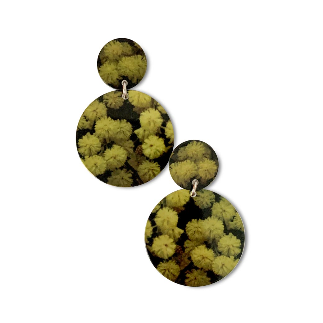Wattle Stud Earrings