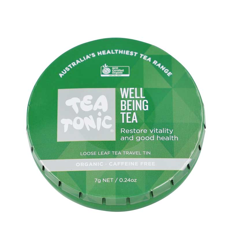 Well Being Tea Travel Tin