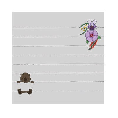 Wombat Sticky Notes