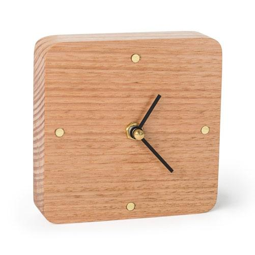 Sunrise Natural Wooden Desk Clock