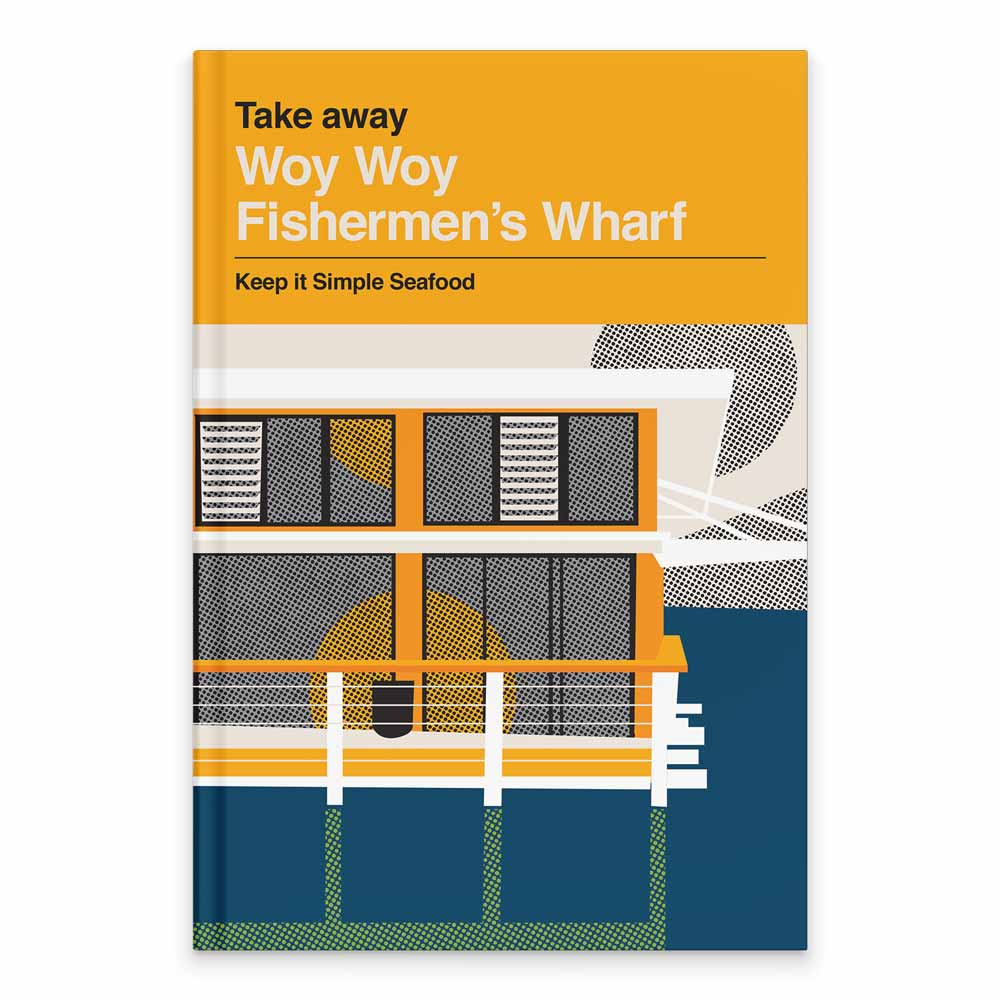 Somekind Press Recipe Book Woy Woy Fishermans Wharf