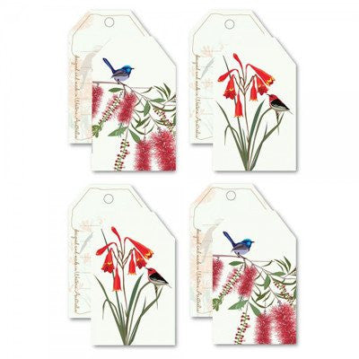 Australian Made Gifts & Souvenirs with the Christmas Bell 8 Gift Tag Pack -by Mokoh Design. For the best Australian online shopping for a Greeting Cards