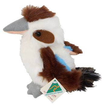 Australian Made Gifts & Souvenirs with the Kookaburra Soft Toy -by Ocean Yeun. For the best Australian online shopping for a Soft Toys - 1