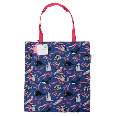 Australian souvenir cotton tote bag Aussie Animals