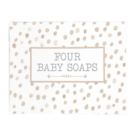 Australian Made Gifts & Souvenirs with the Baby Soaps - Beige Sprinkles -by Lauren Hinkley. For the best Australian online shopping for a Babies