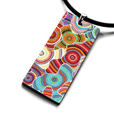 Australian Made Gifts & Souvenirs with the Water Dreaming Pendant Necklace -by Occulture. For the best Australian online shopping for a Jewellery