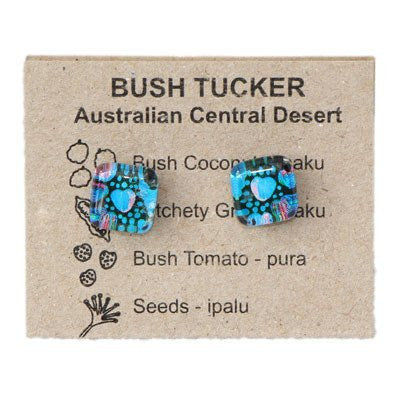 Stud Bush Tucker Earrings