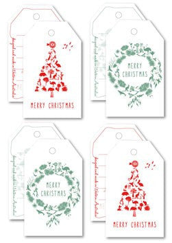 Australian Made Gifts & Souvenirs with the Christmas Gift Tag Pack -by Mokoh Design. For the best Australian online shopping for a Accessories