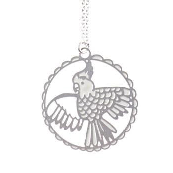 Australian Made Gifts & Souvenirs with the Cockatoo Flight Necklace -by Polli. For the best Australian online shopping for a Accessories - 1