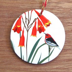 Christmas Honeyeater Decoration
