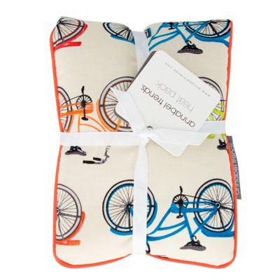 Australian Made Gifts & Souvenirs with the Vintage Bikes Heat Pillow -by Annabel Trends. For the best Australian online shopping for a Beauty