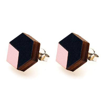 Australian Made Gifts & Souvenirs with the Splice Stud Earrings -by Polli. For the best Australian online shopping for a Jewellery - 1