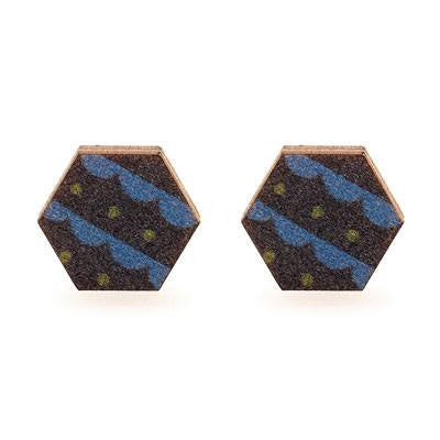 Australian Made Gifts & Souvenirs with the Copenhagen Stud Earrings -by Polli. For the best Australian online shopping for a Jewellery - 2